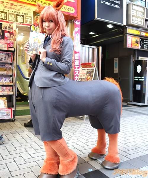 TVアニメ「セントールの悩み」の配布イベントが6日にゲーマーズ本店で行われた