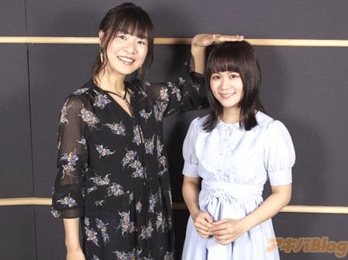 水無月アンナ役・赤�千夏さん、日立木牡丹役・田中あいみさん