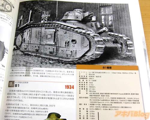 B1戦車「1935年12月から量産されたB1戦車だが、生産数はわずかであった」