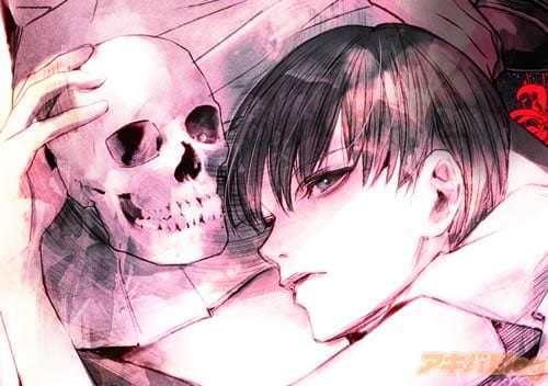 雄一……探偵部所属の高校生男子。先輩を尊敬するあまり、彼女の死後もその頭蓋骨を学校にまで持ち歩く