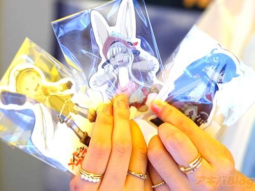 动画「来自深渊/メイドインアビス」莉可声优・富田美忧的磁石贴配布会 - ACG17.COM