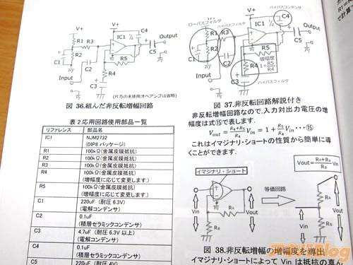 回路図や応用回路使用部品一覧