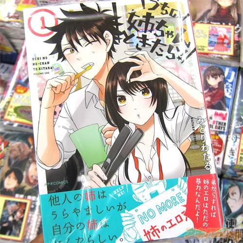 みどりわたる氏のコミックス「うちの姉ちゃんときたら!」1巻