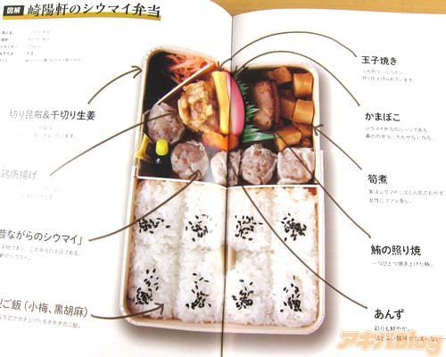 崎陽軒のシウマイ弁当 9種類のおかずと、小梅・黒ゴマが乗った俵型ご飯