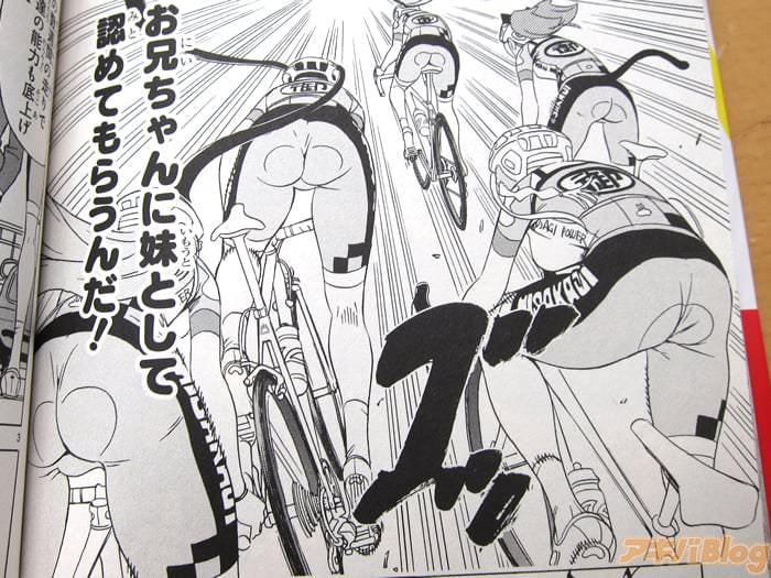 中嶋ちずな 女生×公路自行车/ガールズ×ロードバイク第1卷「严肃热烈的展开,女高中生公路竞速漫画」 - ACG17.COM