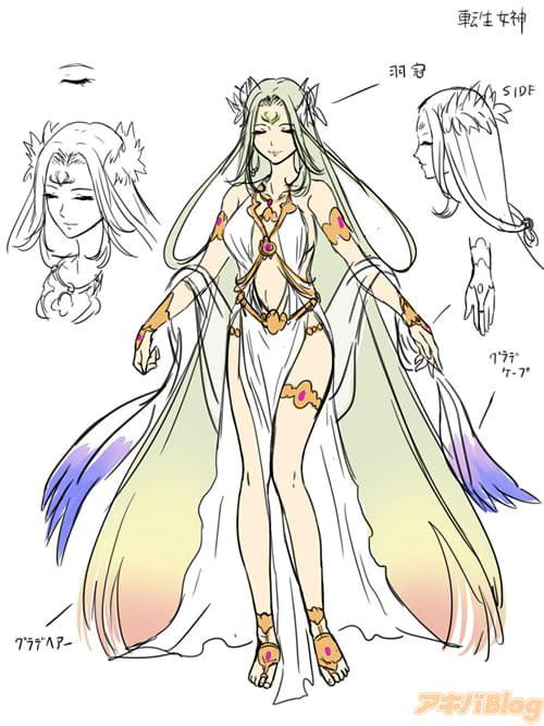 転生女神 シンジを異世界に召喚した張本人。 救世主を続けてもらおうとシンジに何かと干渉を続ける