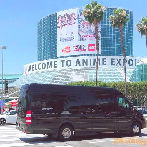 原作者の、蝸牛くも先生がアメリカのアニメコンベンション「Anime Expo」に参加