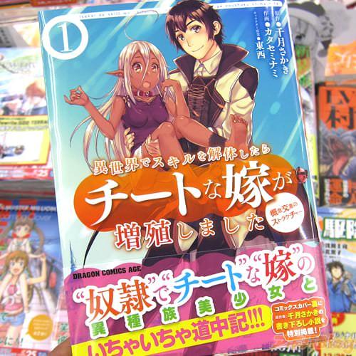 コミックス「異世界でスキルを解体したらチートな嫁が増殖しました」1巻