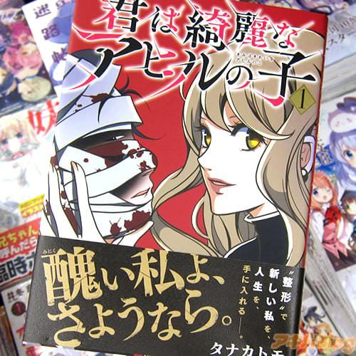 タナカトモ氏のコミックス「君は綺麗なアヒルの子」1巻