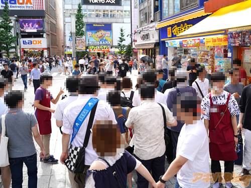 TVアニメ「あそびあそばせ」の「特製トートバッグ&ロゴキャンディ配布会」ゲーマーズ本店で8日に行われた