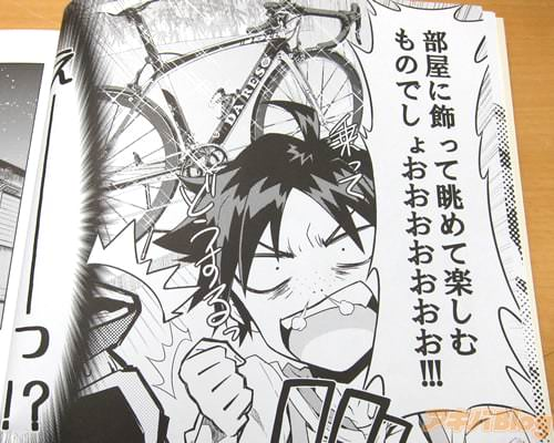 「自転車ってのは…部屋に飾って眺めて楽しむものでしょおおおおお!」
