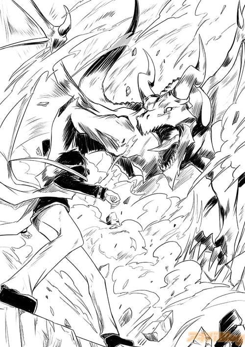 ※ドラゴンと戦う世界最強の賢者・ユージさん(画像はイメージです)