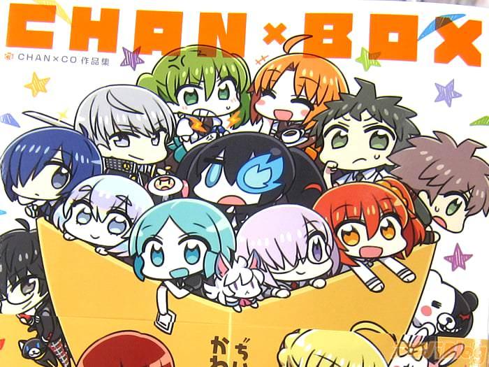 CHANxCO插画集CHANxBOX「商业作品共10年分的商业初作品集」