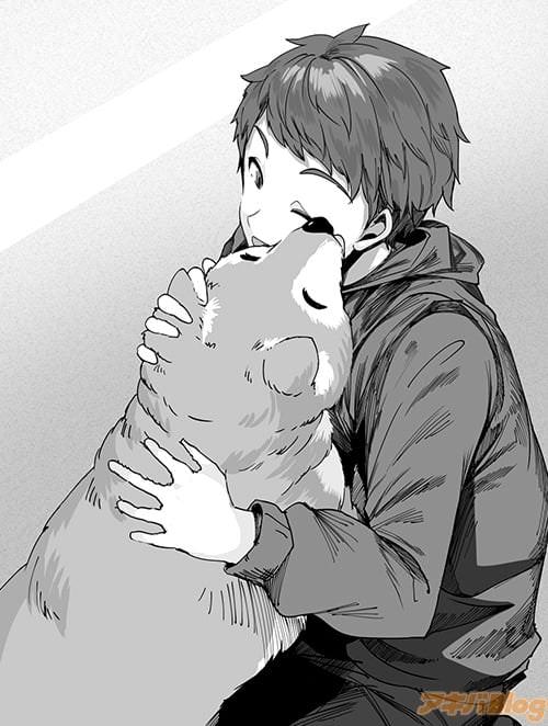 主人公の愛犬モモ