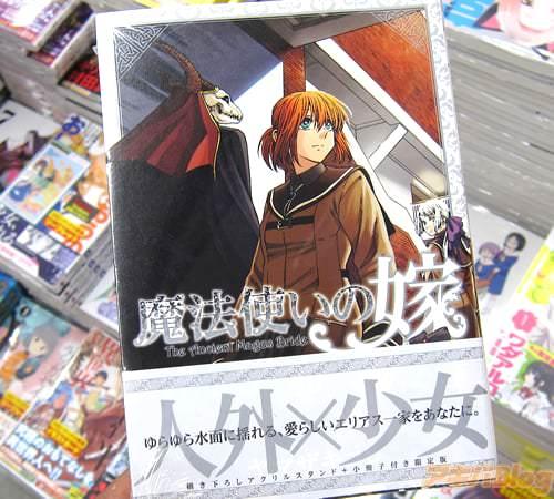 ヤマザキコレ氏のコミックス「魔法使いの嫁」10巻初回限定版