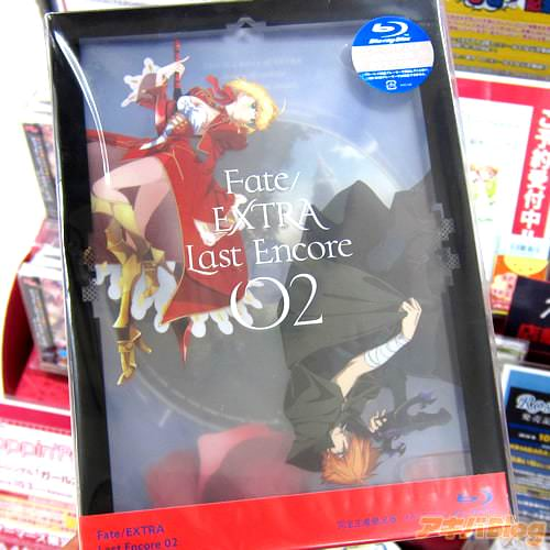 アニメ「Fate/EXTRA Last Encore」BD2巻