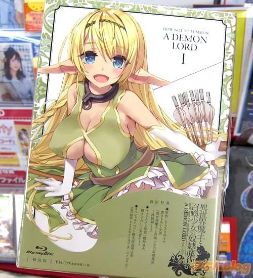 アニメ「異世界魔王と召喚少女の奴隷魔術」BD1巻