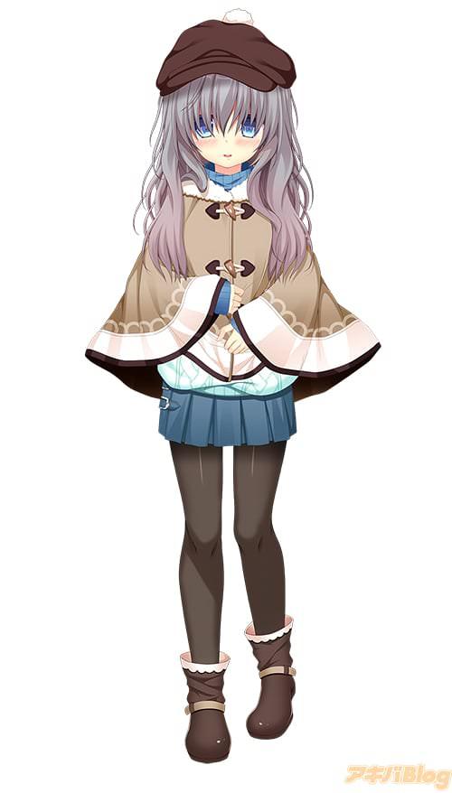 妹・斐川有希。モフモフくせっ毛でモジモジする子