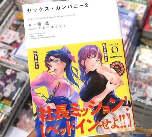 著:鏡遊&イラスト:ナビエ遥か2Tのライトノベル「セックス・カンパニー」2巻