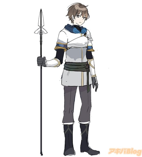 リューイ 天才的な魔法剣士として全女の子の憧れの的だったが、実像は「コミュ力が低くて陰湿な顔をしていますが、悪い人ではない」(byパティ)