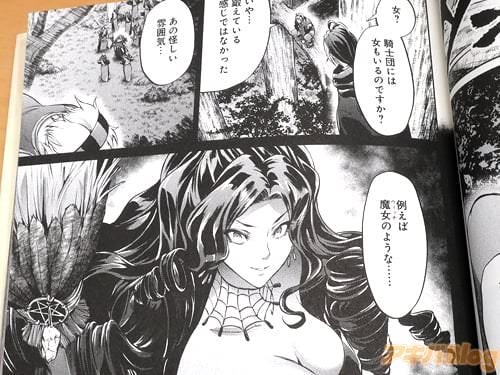 「騎士団には女もいるのですか?」 「いや…鍛えている感じではなかった。あの怪しい雰囲気…例えば魔女のような」