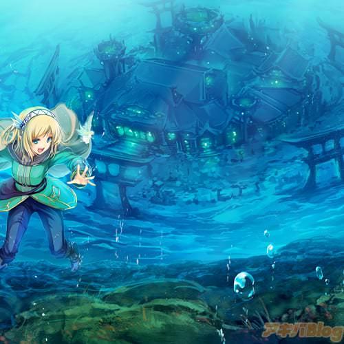 目的地である守護者の塔はなんと海底の竜宮城