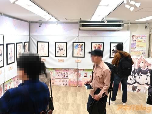 まふゆ先生イラスト展&サイン会inうりぼうざっか Solo Illust exhibition & Autograph session