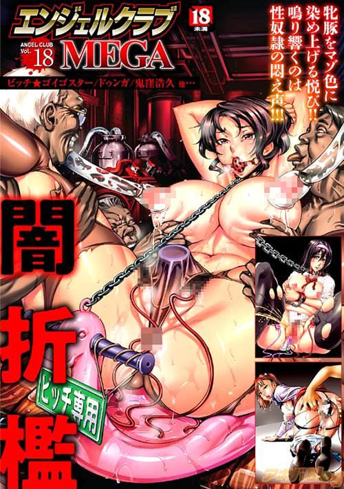 「エンジェルクラブMEGA Vol.18〜闇折檻〜」