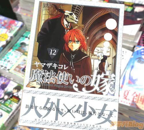 ヤマザキコレの漫画「魔法使いの嫁」12巻の限定版